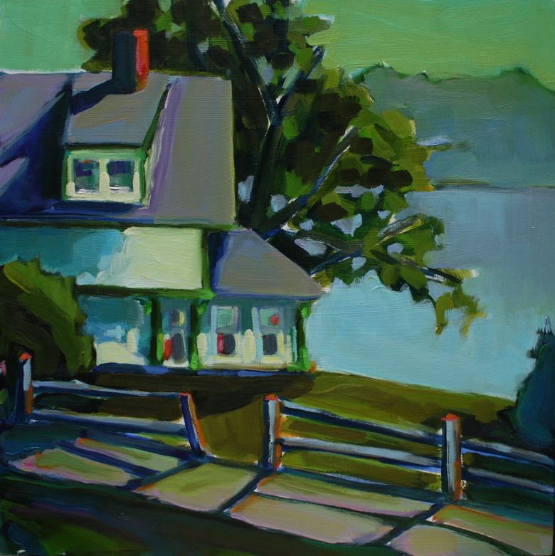 Large island cottage